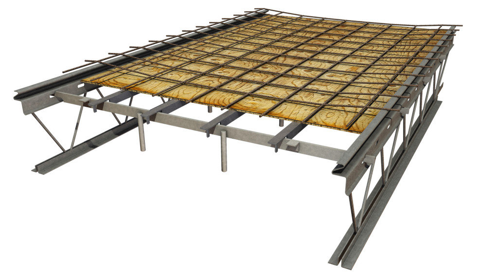 Hambro composite floor system | Canam-Buildings