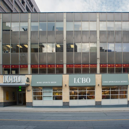 543 Yonge Street – Rénovation