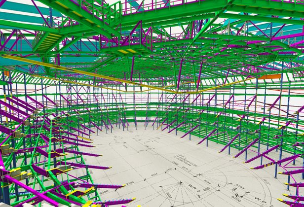 Try Our New Steel Structure Detailing Service