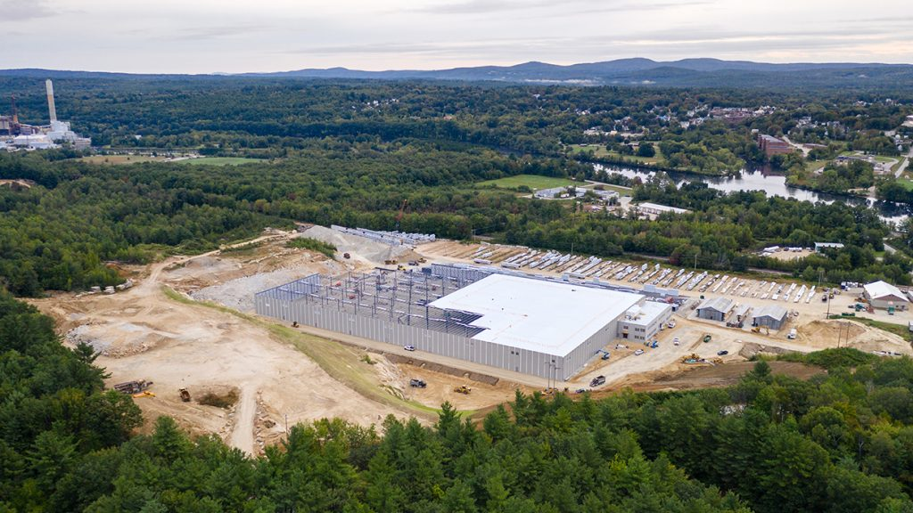 Coastal Forest Products Canam Buildings Prefabricated