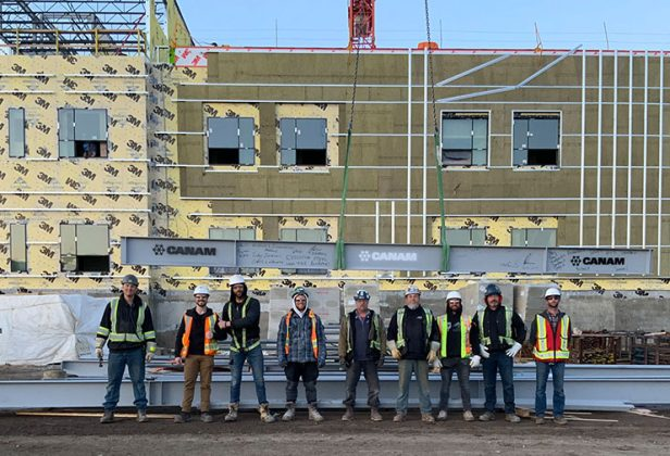 Canam Buildings Selected Health and Safety Crew of the Month
