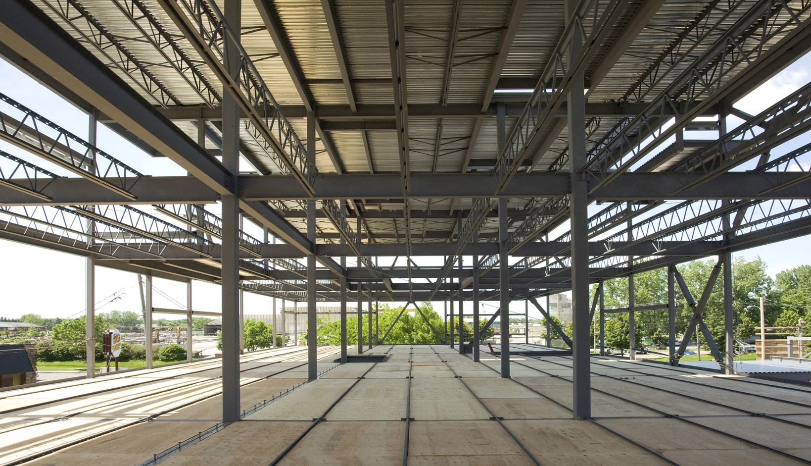 structural steel hambro Structural Building Systems